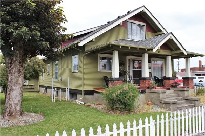 Centralia Single Family Home For Sale: 301 S Pearl St