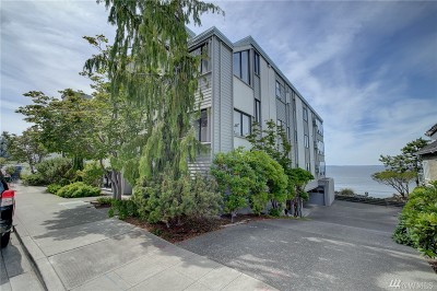 Seattle Condo/Townhouse For Sale: 3053 Alki Ave SW #A