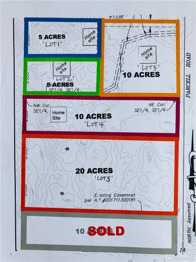Residential Lots & Land For Sale: Parcell Road