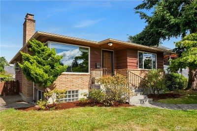 Seattle Single Family Home For Sale: 8056 28th Ave NW