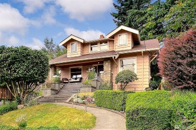 Seattle Single Family Home For Sale: 4015 1st Ave NE