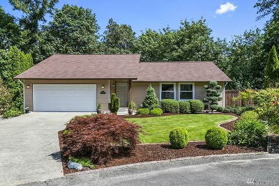 Port Orchard Single Family Home For Sale: 1390 Cedar Canyon Place