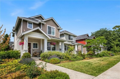 Seattle Single Family Home For Sale: 6466 High Point Dr SW