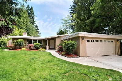 Bellevue Single Family Home For Sale: 16626 SE 14th St