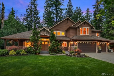 North Bend WA Single Family Home For Sale: $2,295,000