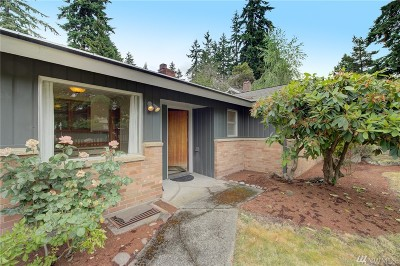 Shoreline Single Family Home For Sale: 15714 Greenwood Ave N
