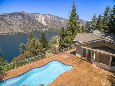 Chelan County Single Family Home For Sale: 2875 Lakeshore Dr
