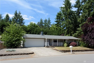 Port Orchard Single Family Home For Sale: 2714 Converse Ave SE
