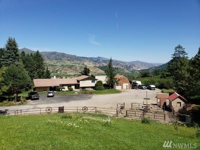 Chelan County Single Family Home For Sale: 9073 Deadman Hill Rd