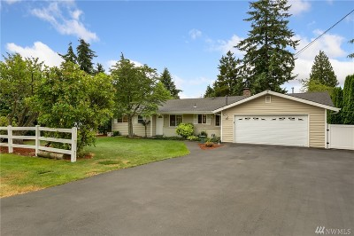Bothell Single Family Home For Sale: 306 216th St SW