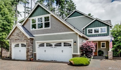 Gig Harbor Single Family Home For Sale: 3217 Emerald Lane