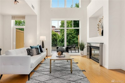 Condo/Townhouse For Sale: 17 W Mercer St #1