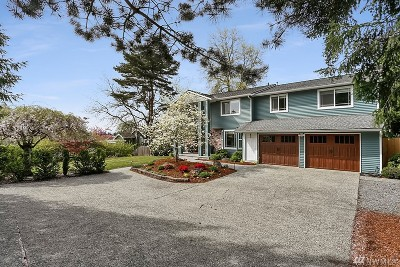 Yarrow Point WA Single Family Home For Sale: $2,158,888