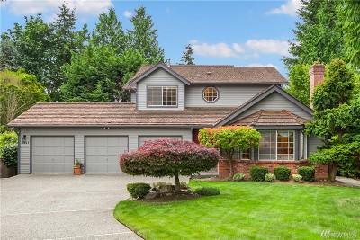 Bothell Single Family Home For Sale: 10911 NE 157th St