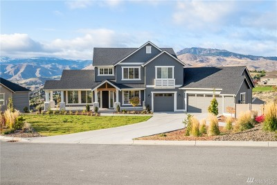 Wenatchee Single Family Home For Sale: 107 Lone Ram Lane