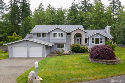 Port Orchard Single Family Home Contingent: 6487 Crossing Place SW