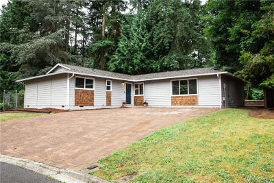 Redmond Single Family Home For Sale: 13701 NE 81st St