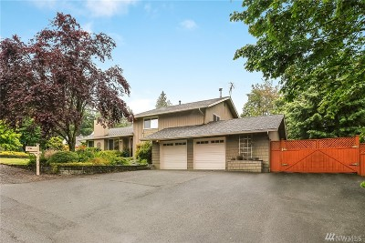 Maple Valley Single Family Home For Sale: 21214 SE 258th St