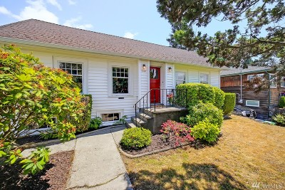 Seattle Single Family Home For Sale: 7108 Woodside Place SW