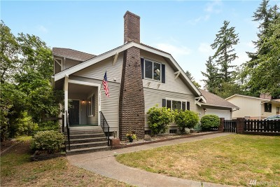 Burien Single Family Home For Sale: 13016 8th Place SW