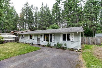 North Bend WA Single Family Home For Sale: $379,900