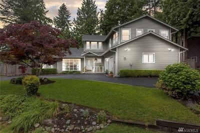 Sammamish Single Family Home For Sale: 21812 SE 33rd Place