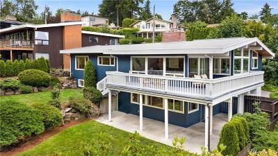 Lake Forest Park Single Family Home For Sale: 3735 NE 151st St