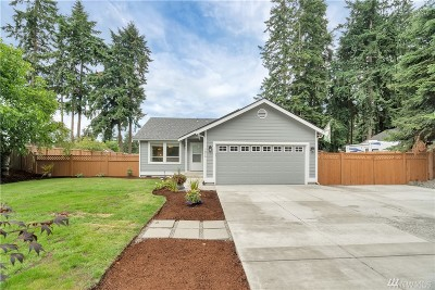Puyallup Single Family Home For Sale: 7814 189th St Ct E