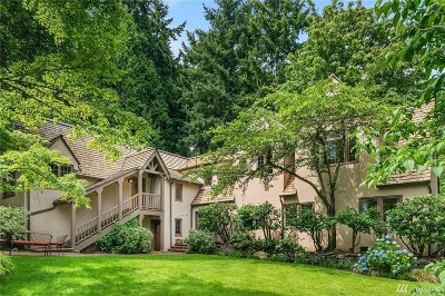 Mercer Island Single Family Home For Sale: 4358 E Mercer Wy