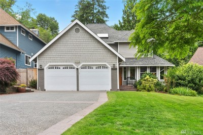 Lake Forest Park Single Family Home For Sale: 2723 NE 184th Place