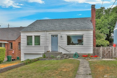 Seattle Single Family Home For Sale: 816 NE 90th St