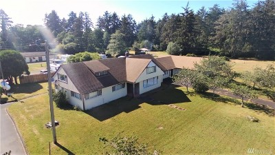 Grays Harbor County Single Family Home Pending Feasibility: 931 S Forrest