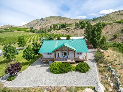 Chelan County Single Family Home For Sale: 3245 Ivan Morse Rd