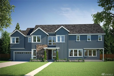 Single Family Home For Sale: 22214 44th (Homesite North 10) Ave SE