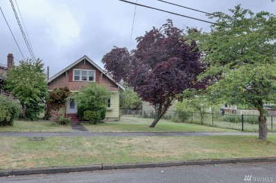 Tacoma Single Family Home For Sale: 865 S 40th St