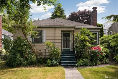 Seattle Single Family Home For Sale: 3620 44th Ave SW