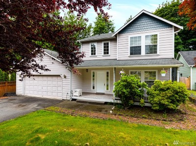 Snohomish Single Family Home For Sale: 818 10th St