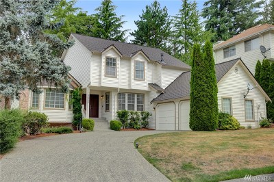 Sammamish Single Family Home For Sale: 22904 NE 16th Place