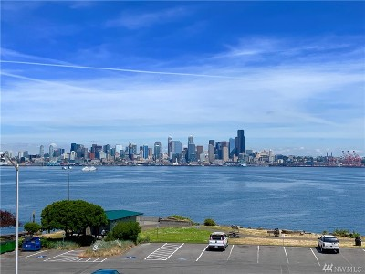 Seattle Condo/Townhouse For Sale: 1301 Harbor Ave SW #312
