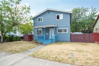 Tacoma Single Family Home For Sale: 3556 S Tyler St