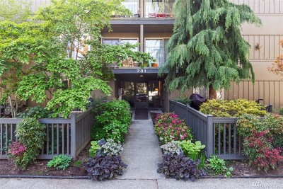 Seattle Condo/Townhouse For Sale: 731 Broadway E #1