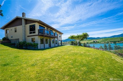 Chelan County Single Family Home For Sale: 3085 Wapato Lake Rd