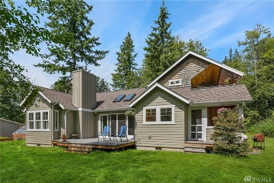 Camano Island Single Family Home For Sale: 319 W Mountain View Rd