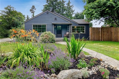 Seattle Single Family Home For Sale: 1612 S 107th St