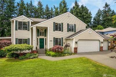 Gig Harbor Single Family Home For Sale: 3608 59th St Ct NW