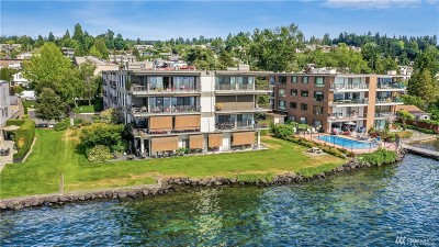 Kirkland Condo/Townhouse For Sale: 6333 Lake Washington Blvd NE #300