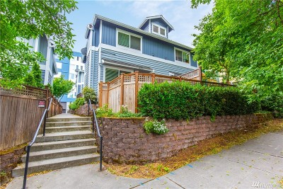 Seattle Single Family Home For Sale: 2027 S Main St #B