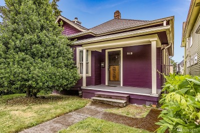 Seattle Single Family Home For Sale: 518 20th Ave