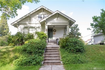 Olympia Single Family Home For Sale: 419 Central St SE