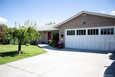 Wenatchee Single Family Home For Sale: 1417 Springwater Ave